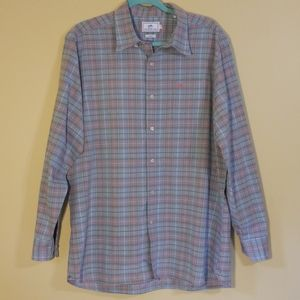 Southern Tide Classic Fit Plaid Button Down Shirt